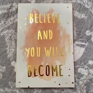 """Believe And You Will Become"" Decorative Art Box"